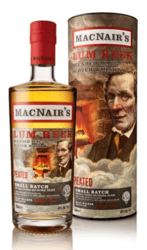 MacNair's Lum Reek Peated - Blended malt 46 % alk. - 70 cl.