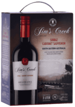 Jim's Creek Shiraz Cabernet Sauvignon - Bag-In-Box, 3 liter