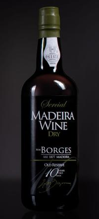 SERCIAL DRY MADEIRA 10 YEARS OLD H. M. Borges