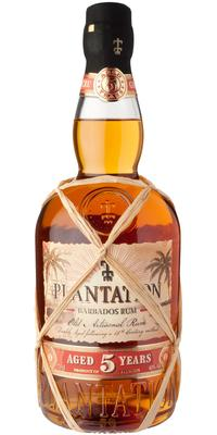Plantation Barbados 5 års 40 % alk. - 70 cl.