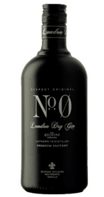 NO. 0 Gin - London Dry Gin 70 cl.